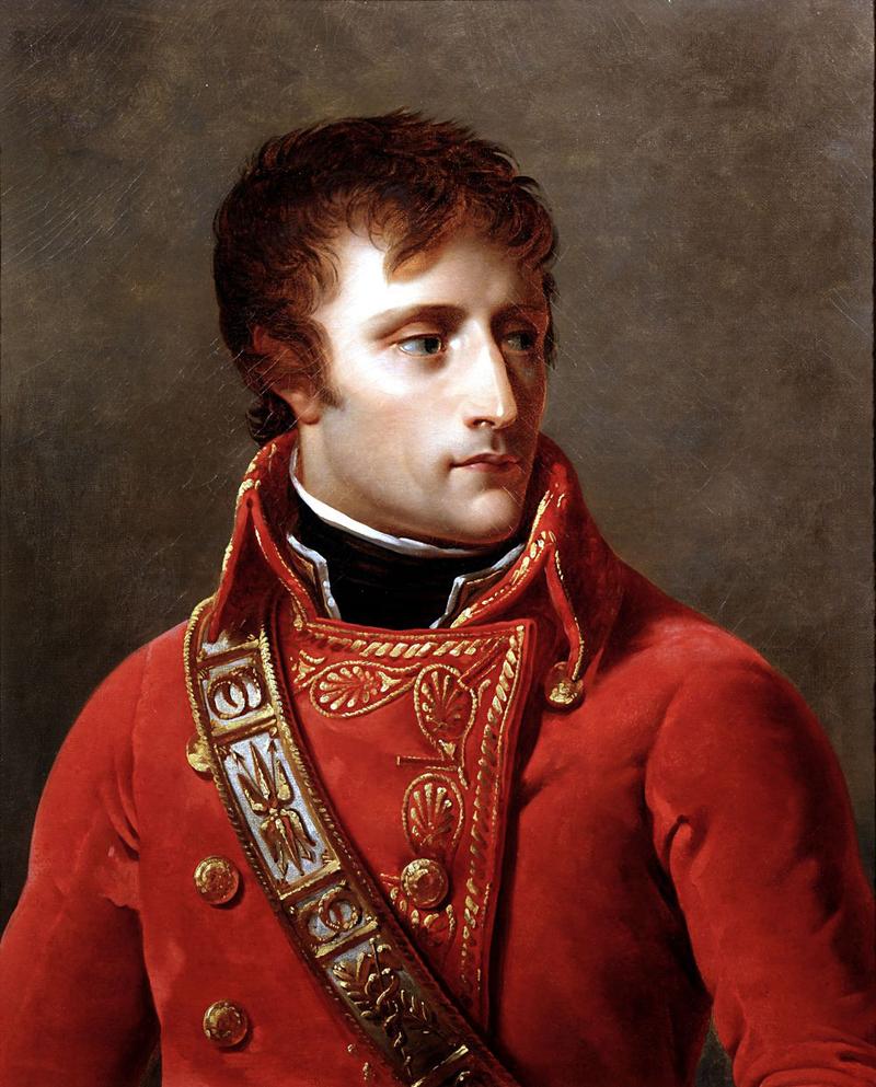 Il generale Napoleone Bonaparte, Primo console della Repubblica francese.