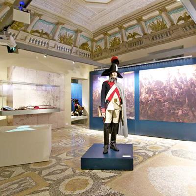 Allestimento musuale del Marengo Museum (AL)
