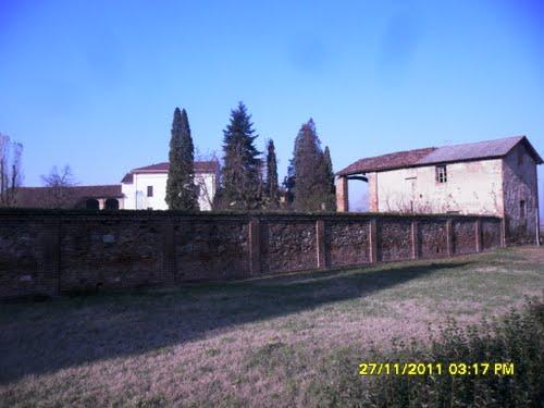 Villaggio di Marengo, costruzioni d'epoca ancora intatte