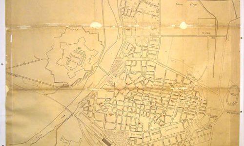 Città di Alessandria, planimetria generale –  1938