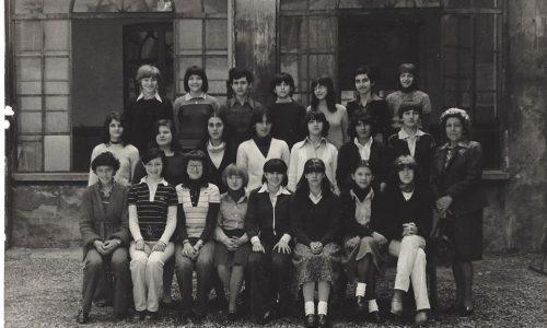 Scuola Manzoni IIIC anno 77-78