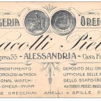 ALESSANDRIA – OROLOGERIA OREFICERIA VACOTTI PIETRO – CORSO ROMA 35