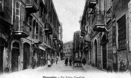 Via San Lorenzo (o del mercato) una volta via Felice Cavallotti.