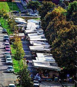 Alessandria – Via Bonardi – mercato del lunedì
