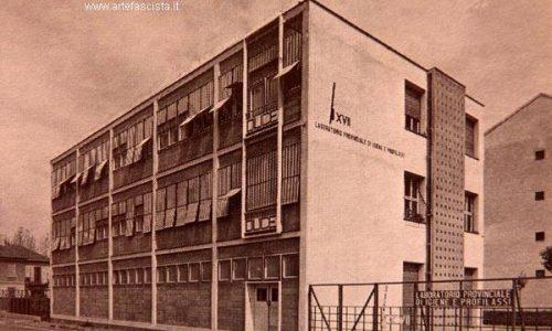 Alessandria – Laboratorio provinciale di igiene e profilassi – 1937 – 1939