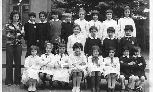 III^ Elementare A/S 74/75 scuola E.De Amicis Alessandria