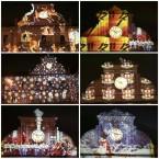 Piazza Garibaldi – l'orologio illuminato a Natale