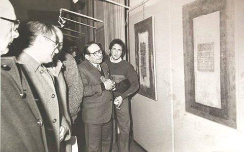 Mostra a Palazzo Guasco- 1984
