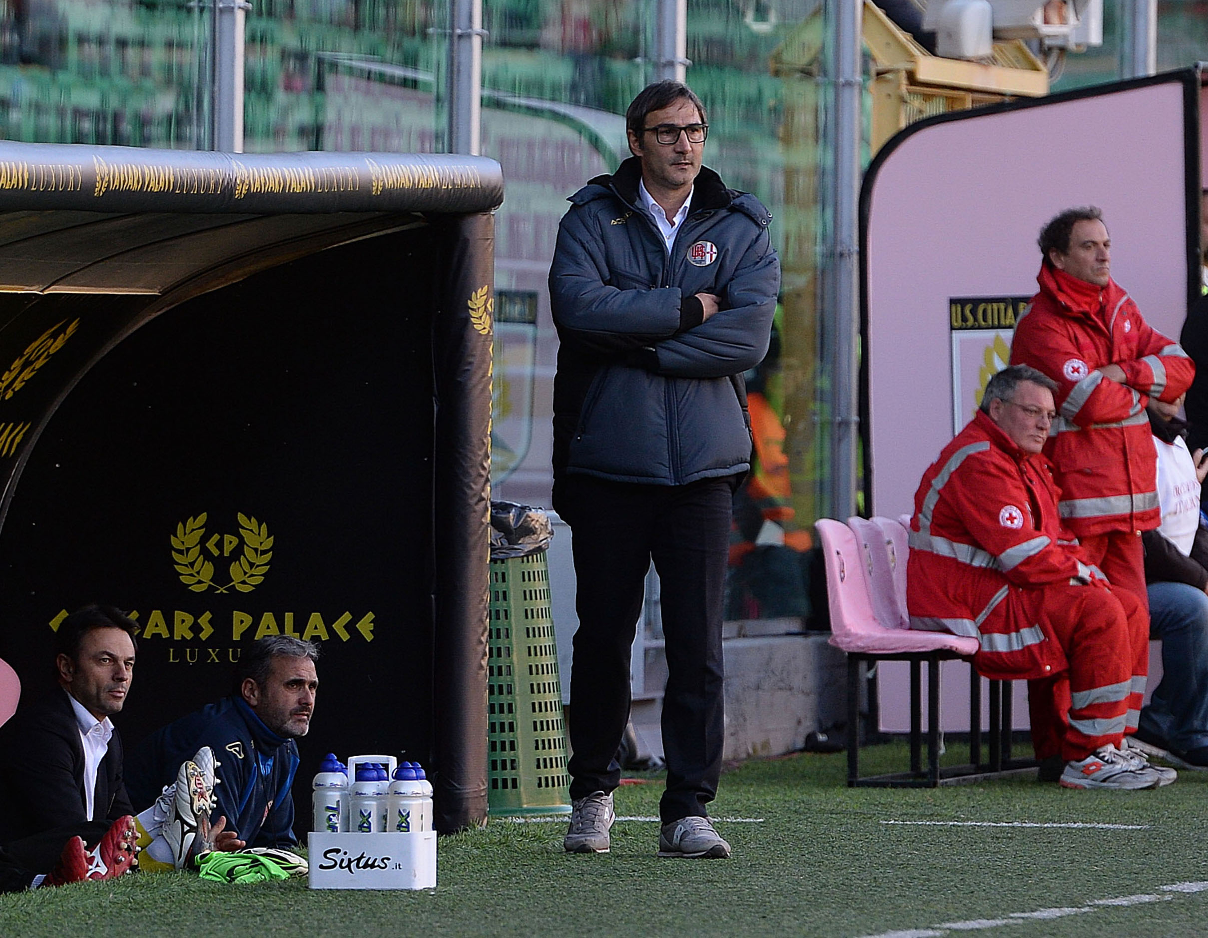 ipp/pasquale ponente palermo 2/12/2015 coppa italia 2015/2016 palermo - alessandria nella foto : l'allenatore angelo gregucci italy photo press - world copyright