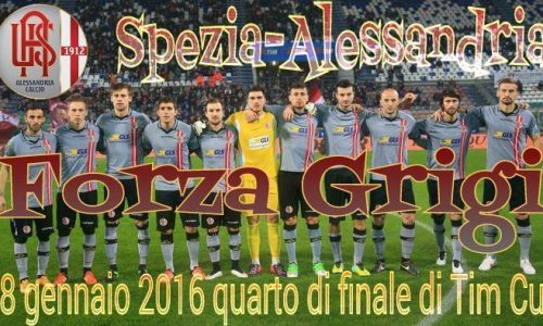 18/01/2016 – Tim Cup – Quarti di finale – Spezia – Alessandria