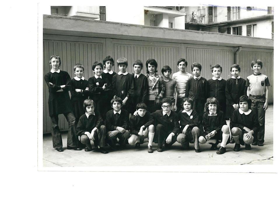 Anno 1973 Quinta Elementare De Amicis distaccamento di Via Tortona.
