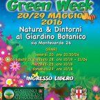 Alessandria Green Week – 20-29 maggio 2016 – Giardino Botanico