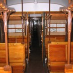 """Ve le ricordate, le carrozze """"centoporte"""" con i sedili in legno…mitiche!!!"""