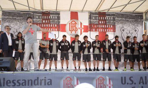 Presentazione rosa prima squadra U. S. Alessandria 1912 – Bardonecchia luglio 2016