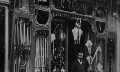 Negozio di ombrelli Tagini in Corso Roma