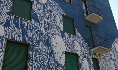 Street art vicino al ponte Meier – Ottobre 2016