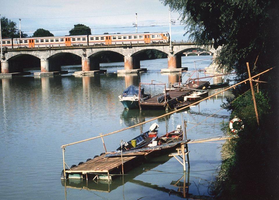 Il vecchio ponte della ferrovia (foto Ruggiero Noccioli)