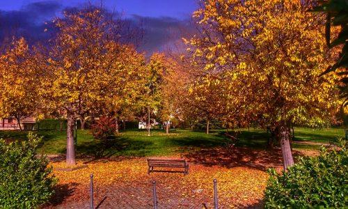 Una sera d'autunno al quartiere Cristo
