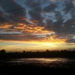 Il cielo su Alessandria….dopo una giornata nera…ritorna il sereno
