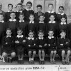 Scuola Galileo Galilei – anno 1951-52