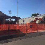 Ristrutturazione stadio Moccagatta (estate 2017)