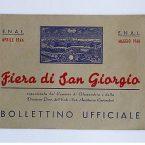 Alessandria – Fiera di San Giorgio bollettino ufficiale 1946