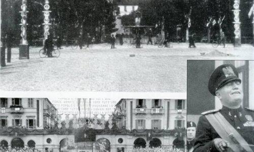 Benito Mussolini ricevette nel 1924 la cittadinanza onoraria della città