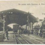 La Stazione Ferroviaria di Alessandria e la Locomotiva a vapore [Un tuffo nel passato]