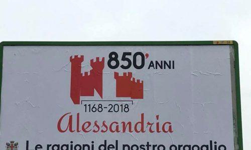 1168-2018, 850 di Alessandria.