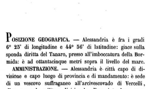 Storia di Alessandria