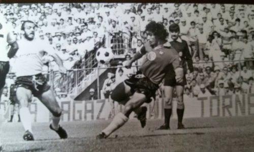 Gol di Ciccio Marescalco contro il Carbonia – stagione 1984/85