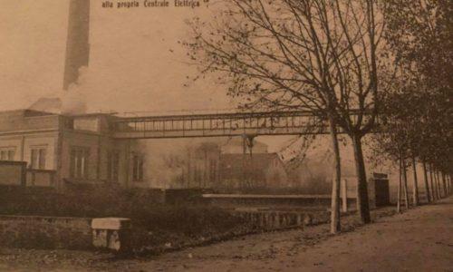 La passerella della fabbrica Borsalino