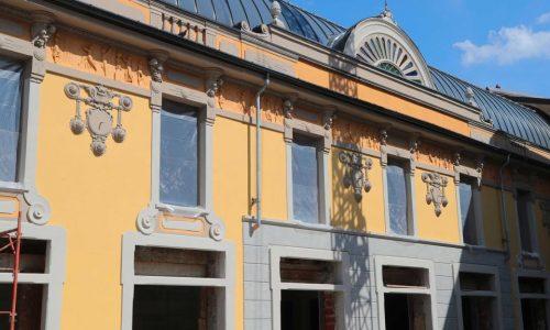 Via i ponteggi, svelato il nuovo aspetto dell'ex cinema Moderno di Alessandria –  Agosto 2018