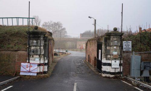 La Cittadella: la nebbia e il freddo