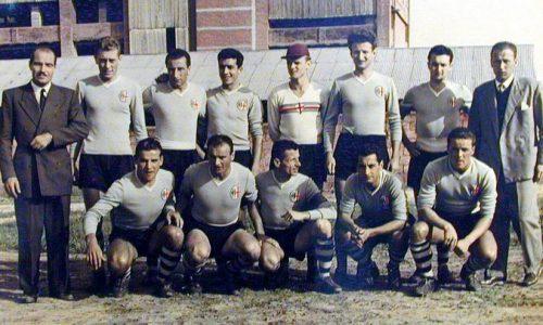 Alessandria nel campionato 1951-'52 in Serie C