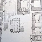 Immagine raffigurante il tessuto urbano di piazza Reale di Alessandria (in seguito piazza della Libertà)