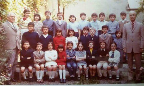 Scuola elementare De Amicis mi sembra classe 4 o 3 non ricordo bene,maestro Dantona con il bidello Pippo!!!!