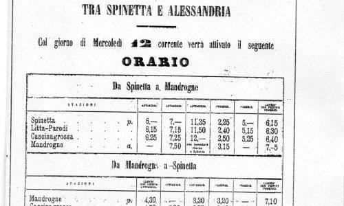 Tramvia a cavalli. – 1888