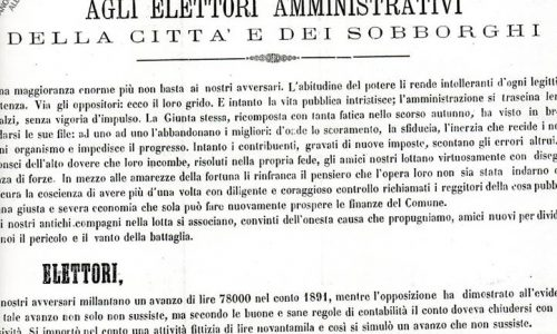 Quotidiani di Alessandria – 1892.