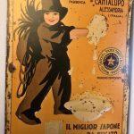 Pubblicità del Sapone Stella, della premiata Fabbrica di Cantalupo di Alessandria -1930.