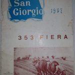 Brochure Fiera di S. Giorgio – 1957