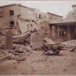 La stazione dopo il bombardamento del 1944