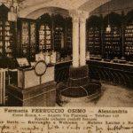 Antiche attività in Alessandria: Farmacia Osimo