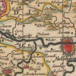 La carta geografica del Piemonte nel XVII secolo conservata presso il Rijksmuseum ad Amsterdam.