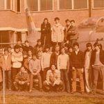 """1978/1979 CLASSE V B IST. TEC. IND. """"VOLTA"""" ALESSANDRIA"""