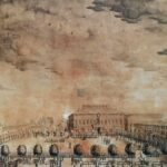 La nuova piazza grande voluta da Napoleone dopo l'abbattimento della cattedrale